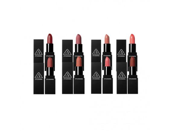 [3CE] Matte Lip Color (Part 1)- 3.5g