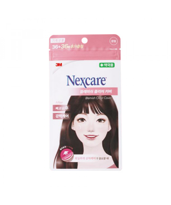 [3M NEXCARE] Blemish Clear Cover (2021) - 1pack (72pcs)