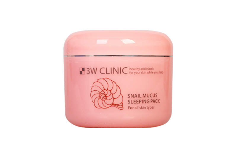 [3W CLINIC] Snail Mucus Sleeping Pack - 100ml