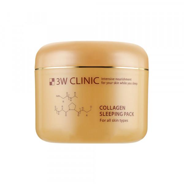 [3W CLINIC] Collagen Sleeping Pack - 100ml