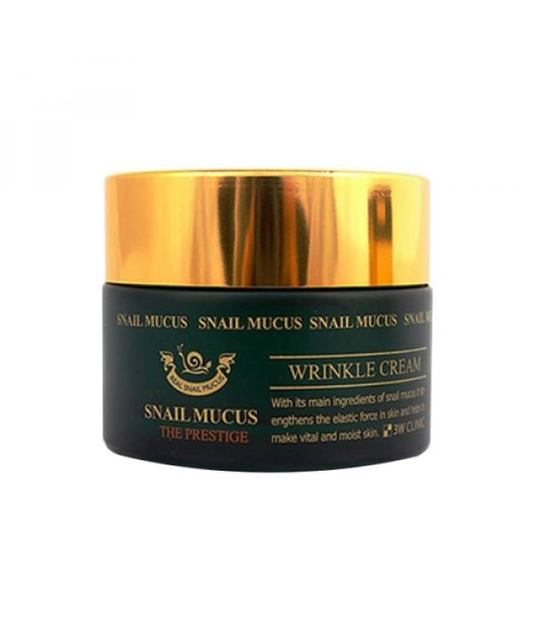 [3W CLINIC] Snail Mucus Wrinkle Cream - 50ml