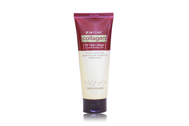 [3W CLINIC] Collagen Crystal Peeling Gel - 180ml