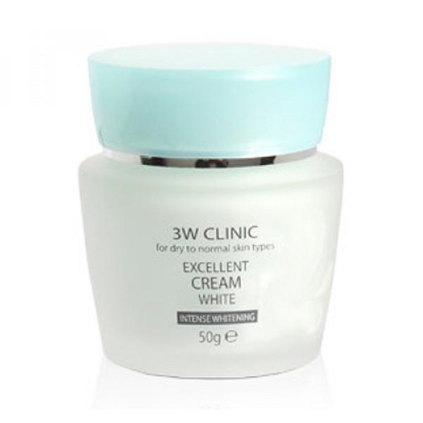 [3W CLINIC] Excellent Cream White - 50g