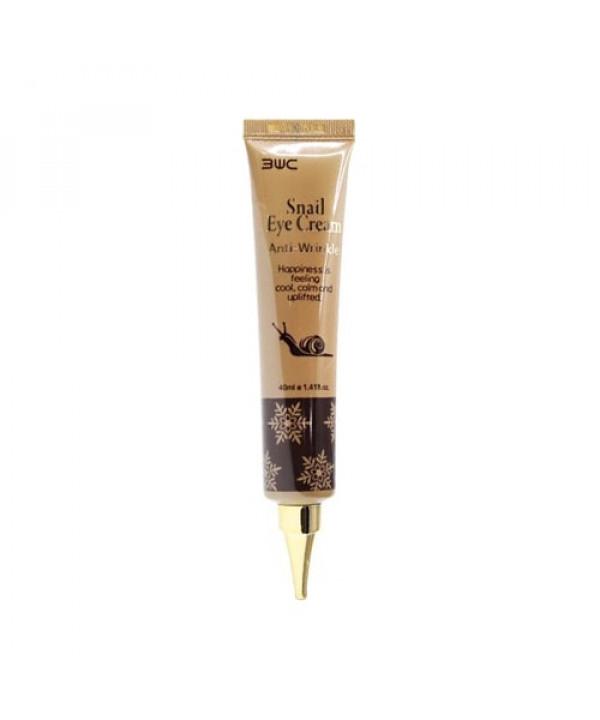 [3W CLINIC] Snail Eye Cream Anti Wrinkle - 40ml (Tube Type)