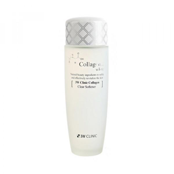 [3W CLINIC] Collagen White Clear Softener - 150ml