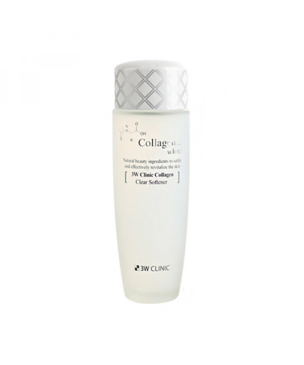 [3W CLINIC_LIMITED] Collagen White Clear Softener - 150ml (Flawed Box)