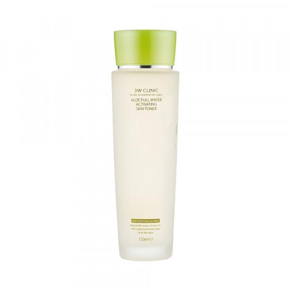 [3W CLINIC] Aloe Full Water Activating Skin Toner - 150ml