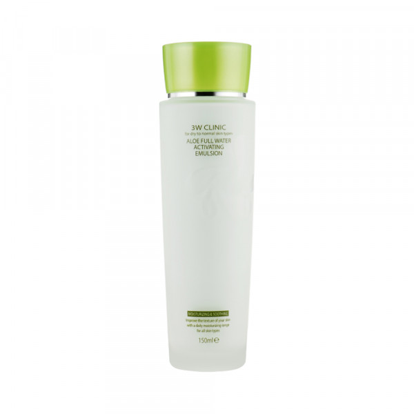 [3W CLINIC] Aloe Full Water Activating Emulsion - 150ml