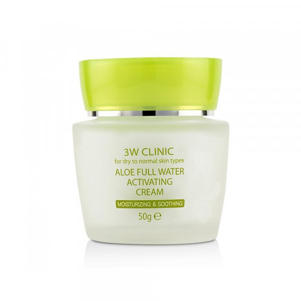 [3W CLINIC] Aloe Full Water Activating Cream - 50g