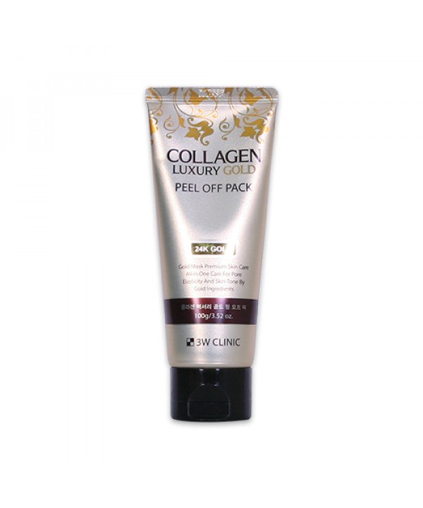 [3W CLINIC] Collagen Luxury Gold Peel Off Pack - 100g