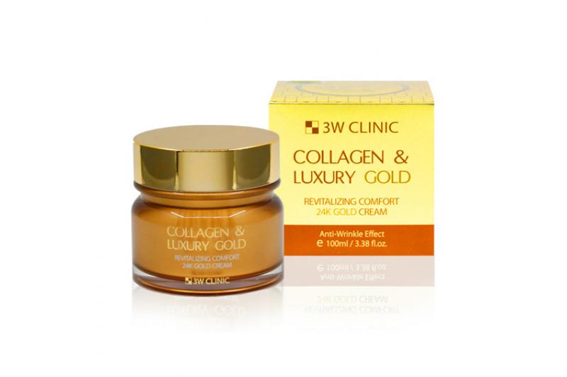[3W CLINIC] Collagen & Luxury Gold Cream - 100ml