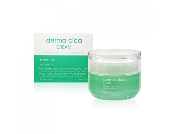 [3W CLINIC] Derma Cica Cream - 55g