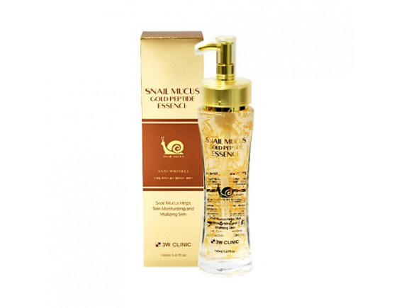 [3W CLINIC] Snail Mucus Gold Peptide Essence - 150ml