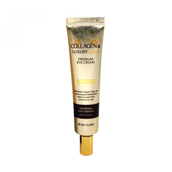 [3W CLINIC] Collagen & Luxury Gold Premium Eye Cream - 40ml