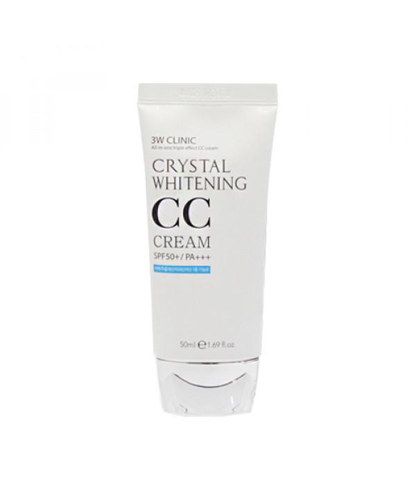 [3W CLINIC] Crystal Whitening CC Cream - 50ml (SPF50+ PA+++)