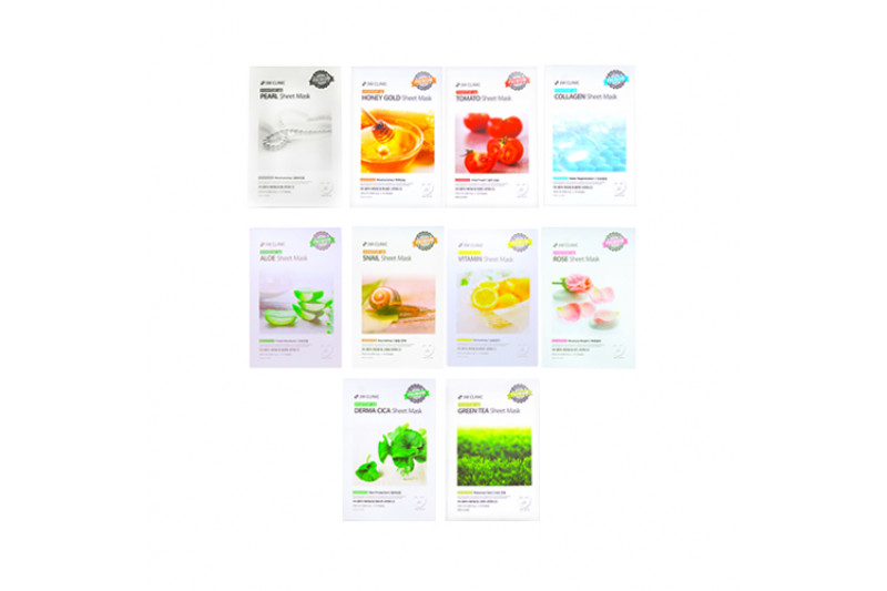 [3W CLINIC] Essential Up Sheet Mask - 1pack (10pcs)