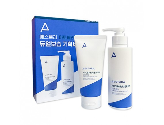 [AESTURA] Atobarrier 365 Dual Moisture Set - 1pack (2items)