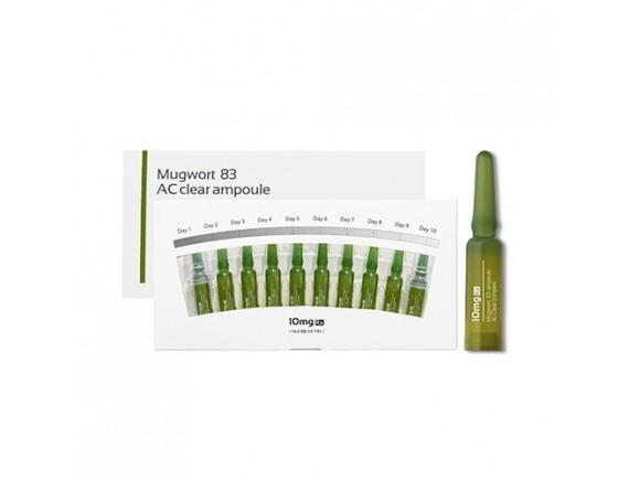 [AIDA] Mugwork 83 AC Clear Ampoule - 1pack (10pcs)