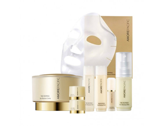 [AMORE PACIFIC] Time Response Skin Reserve Creme Set - 1pack (8items)