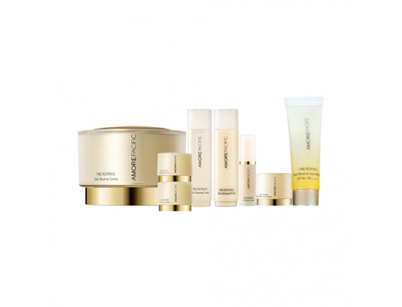 [AMORE PACIFIC] Time Response Skin Reserve Creme Set (2020) - 1pack (8items)