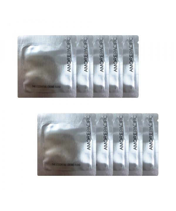 [AMORE PACIFIC_Sample] The Essential Cream Fluid Samples - 10pcs