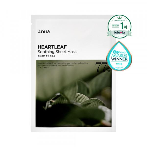 [ANUA] Heartleaf 77% Soothing Sheet Mask - 1pcs