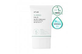 W-[ANUA] 5 Zero Mild Sun Cream - 50ml (SPF50+ PA++++) x 10ea