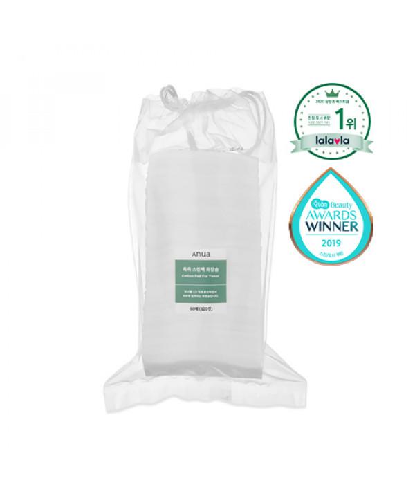 [ANUA] Cotton Pad For Toner - 1pack (60pcs)