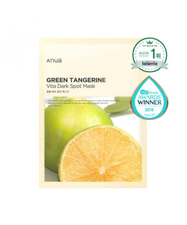 [ANUA] Green Tangerine Vita Dark Spot Mask - 1pcs