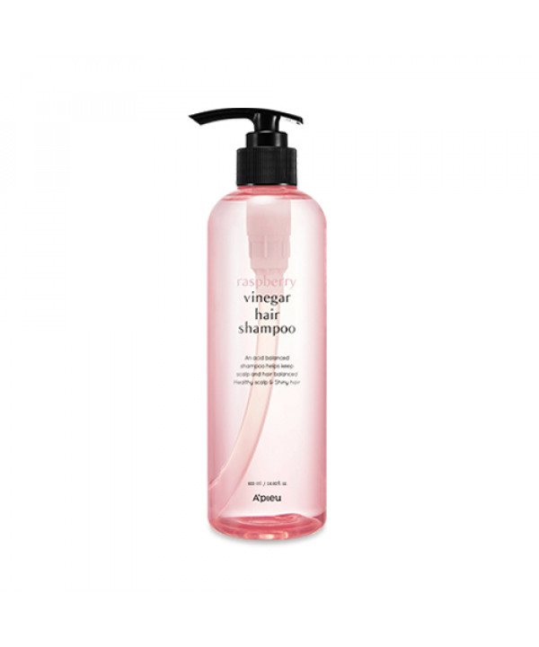 [A'PIEU] Raspberry Vinegar Hair Shampoo - 500ml