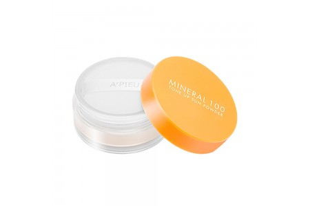[A'PIEU] Mineral 100 Tone Up Sun Powder - 6g (SPF50+ PA+++)