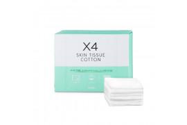 [A'PIEU] X4 Skin Tissue Cotton - 1pack (80pcs)