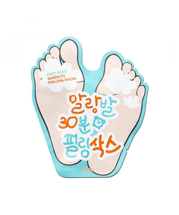 [A'PIEU] Soft Foot 30Minute Peeling Socks - 1pack (2pcs)