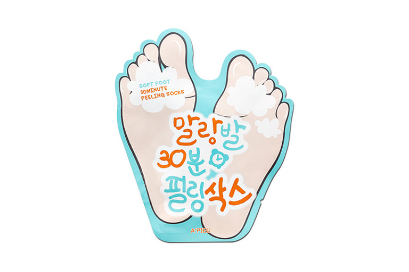 [A'PIEU] Soft Foot 30Minute Peeling Socks - 1pack (2pcs)