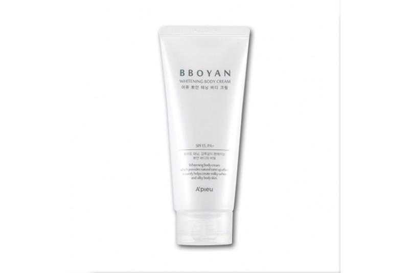 [A'PIEU] Bboyan Whitening Body Cream - 130ml (SPF15 PA+)