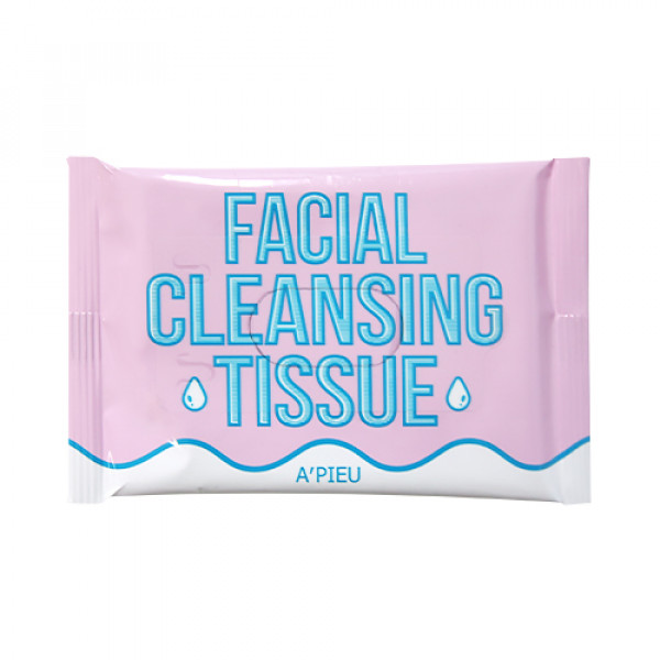 [A'PIEU_Sample] Facial Cleansing Tissue Sample - 1pack (8pcs)