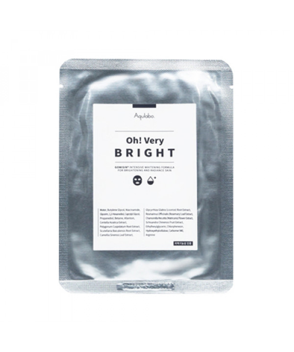 [Aqulabo] Oh Very Bright Mask Pack - 1pcs