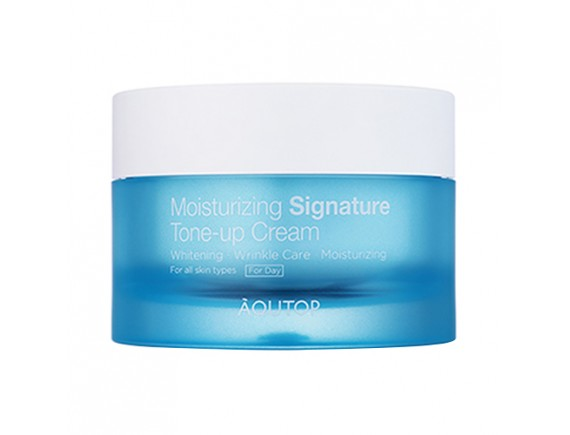 [AQUTOP] Moisturizing Signature Tone Up Cream - 50ml