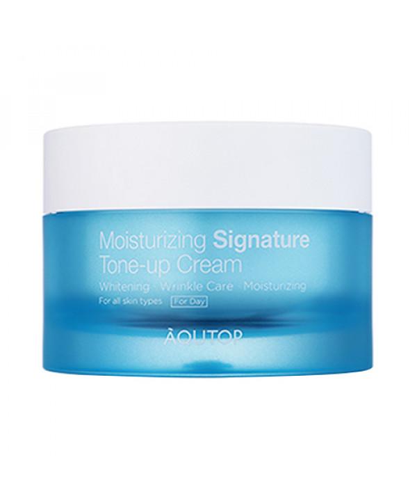 [AQUTOP] Moisturizing Signature Tone Up Cream - 50ml