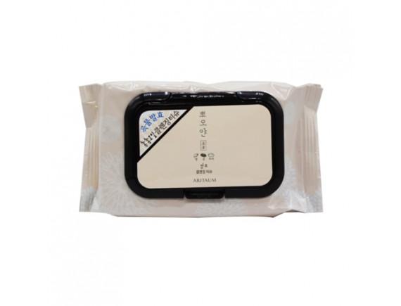 [ARITAUM] White Smile Fermented Cleansing Tissue - 1Pack (40ea)