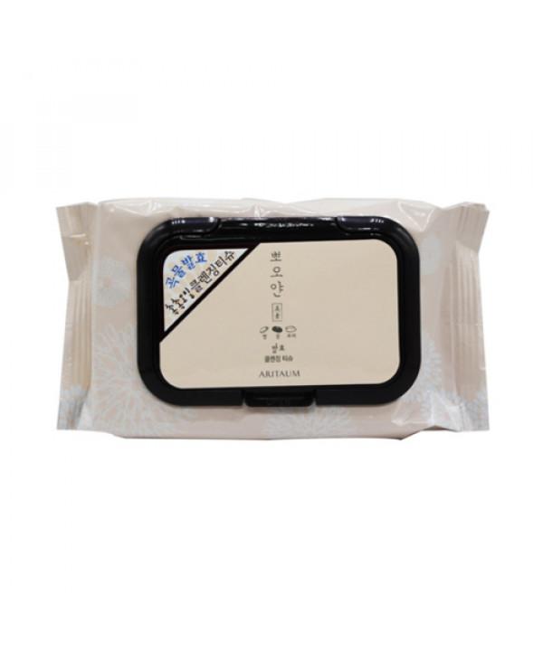 W-[ARITAUM] White Smile Fermented Cleansing Tissue - 1Pack (40ea) x 10ea