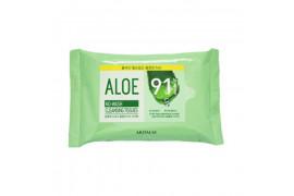 [ARITAUM] Aloe No Wash Cleansing Tissues - 1pack (20pcs)