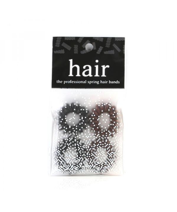 [ARITAUM] The Professional Spring Hair Bands - 1pack (4pcs)