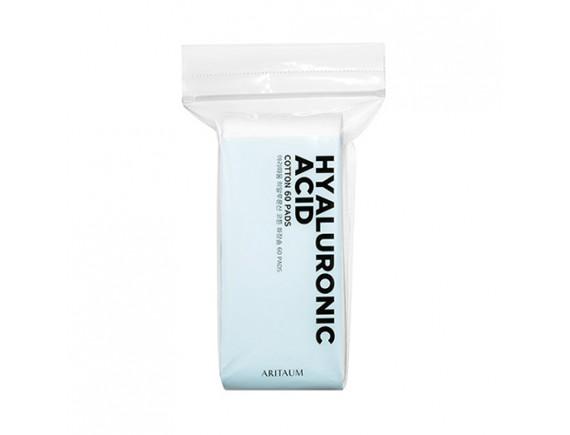 [ARITAUM] Hyaluronic Acid Cotton Pads - 1pack (60pcs)