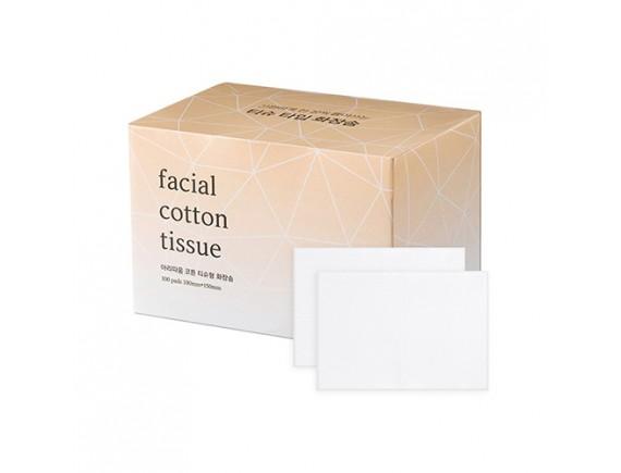 [ARITAUM] Facial Cotton Tissue - 1pack (100pcs)