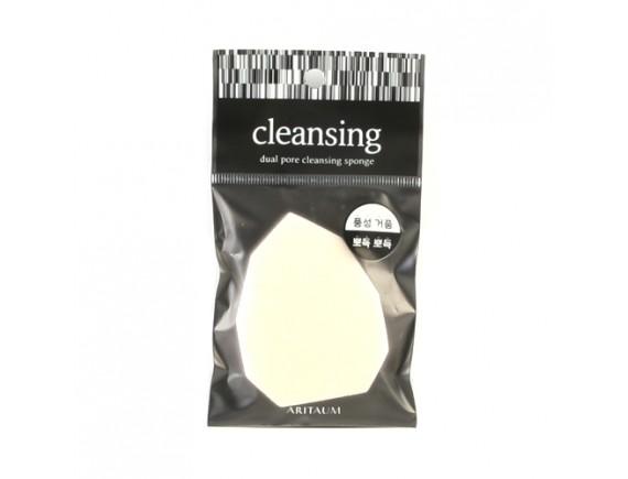 [ARITAUM] Dual Pore Cleansing Sponge - 1pcs