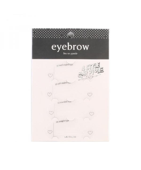 [ARITAUM] Brow Guide - 1pack (4pcs)