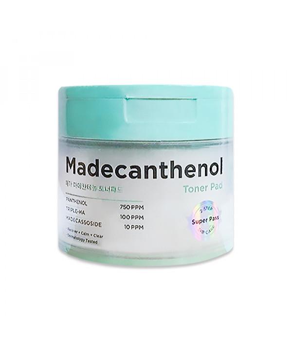 W-[ARITAUM] Mega Madecanthenol Toner Pad - 1pack (60pcs) x 10ea