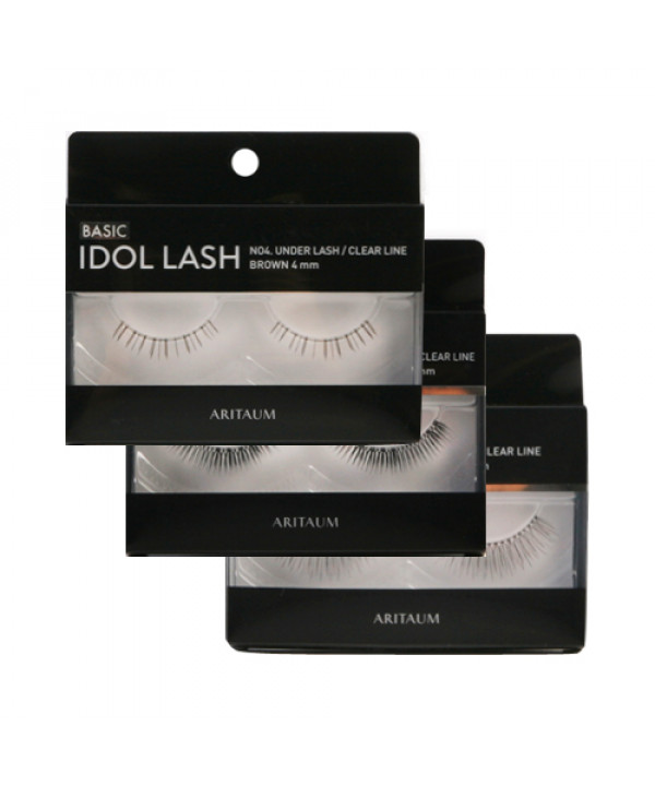 W-[ARITAUM] Idol Lash Basic - 1pair x 10ea