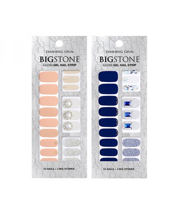 [ARITAUM] Dashing Diva Big Stone Gloss Gel Nail Strip - 1pack (2pcs+Nail File)